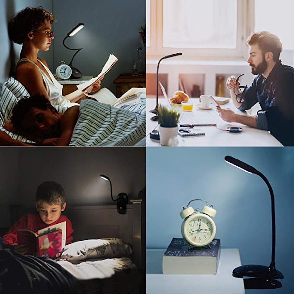 Raniaco LED Clip-On Reading Light