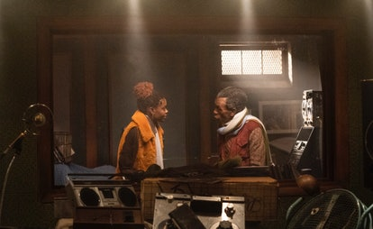 Ashleigh Murray as Josie McCoy and André De Shields as Chubby in 'Katy Keene' Episode 5.