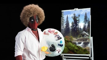 Deadpool Ryan Reynolds Bob Ross costume