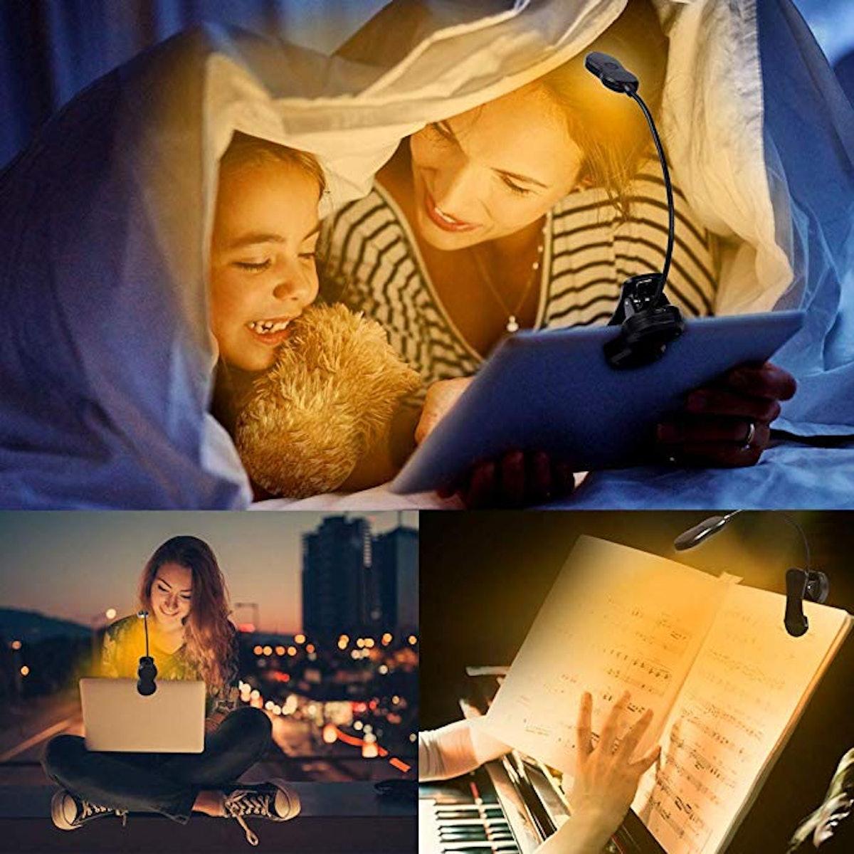 iGoober Amber Book Light