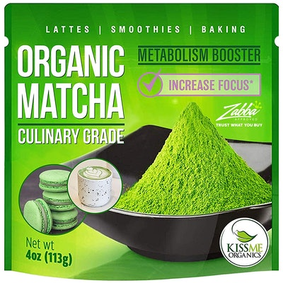 Kiss Me Organics Matcha Green Tea Powder (4 Oz.)