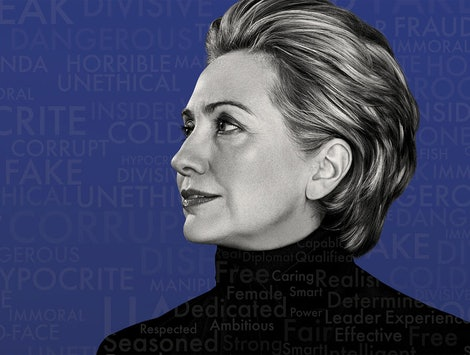 Hillary Clinton from Hulu's 'Hilary' docuseries.