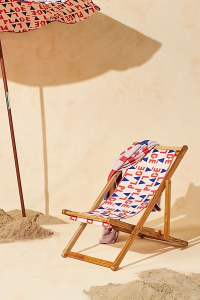 Clare V. for Anthropologie Beach Sling Chair