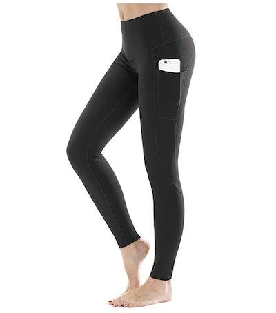 LifeSky High Waist Yoga Pants with Pockets