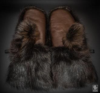 Classic Beaver mittens