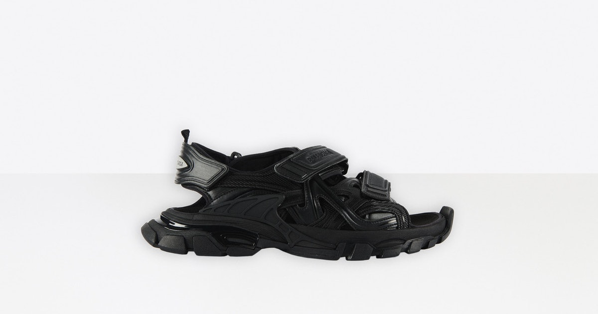 Balenciaga has the chunky sandals you've been waiting for