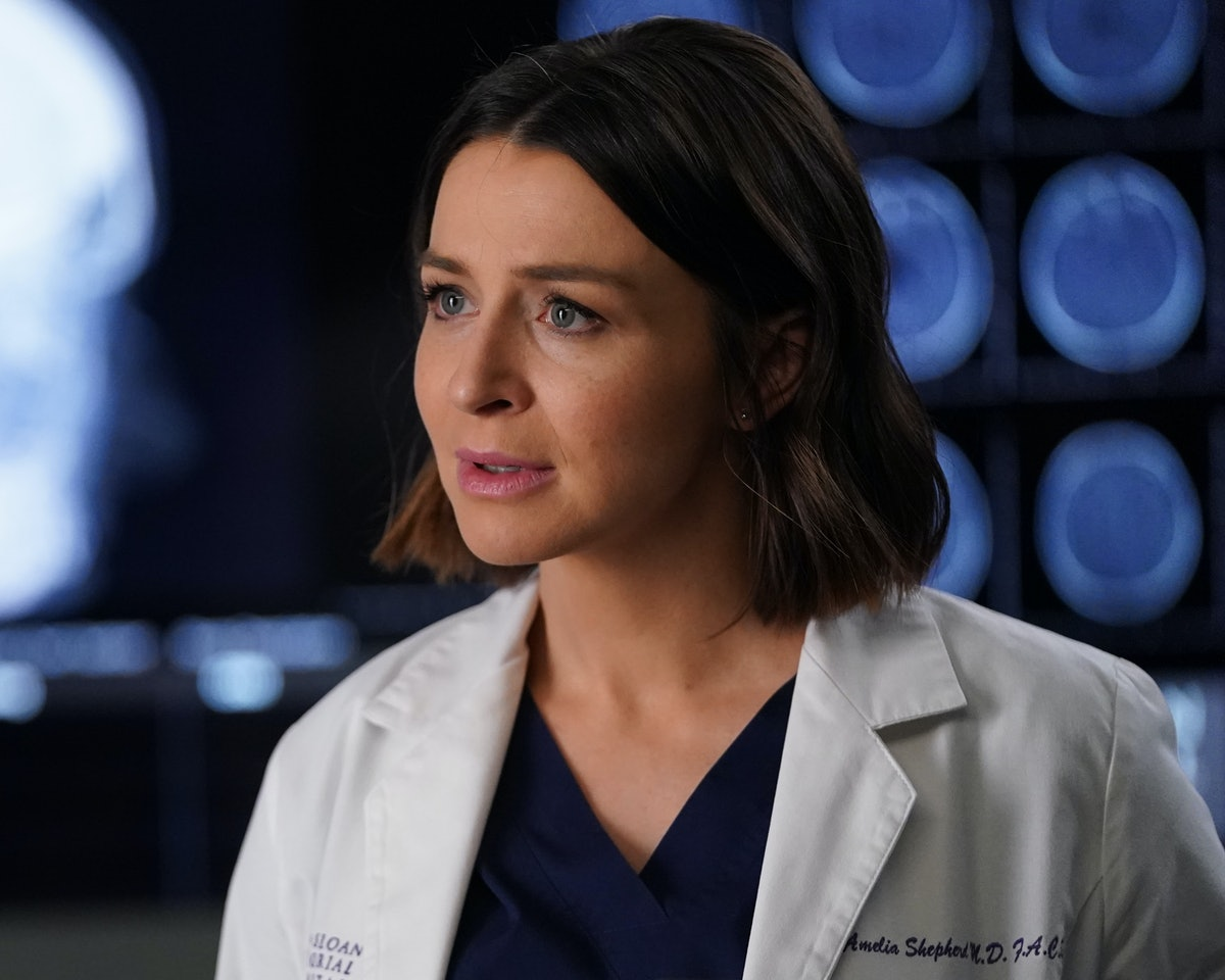 Amelia will reveal details of her pregnancy in the 'Grey's Anatomy's Season 16, Episode 17 promo
