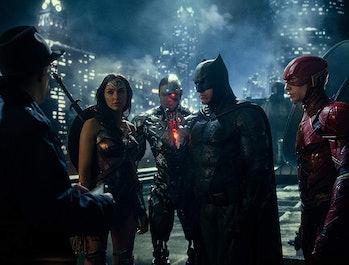 Snyder Cut Justice League Gal Gadot Ben Affleck JK Simmons Ezra Miller