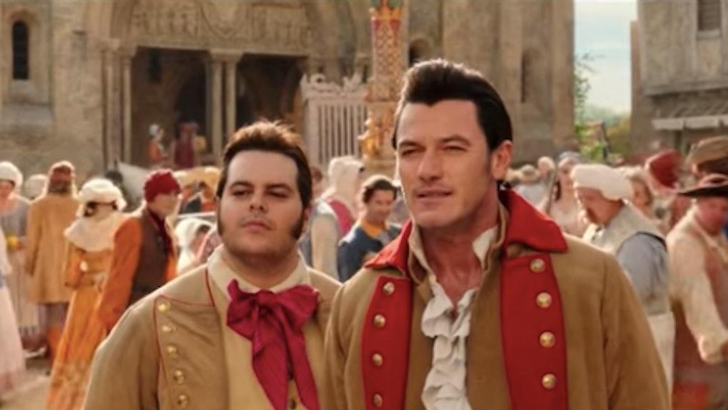 Gaston & LeFou in 'Beauty & The Beast'