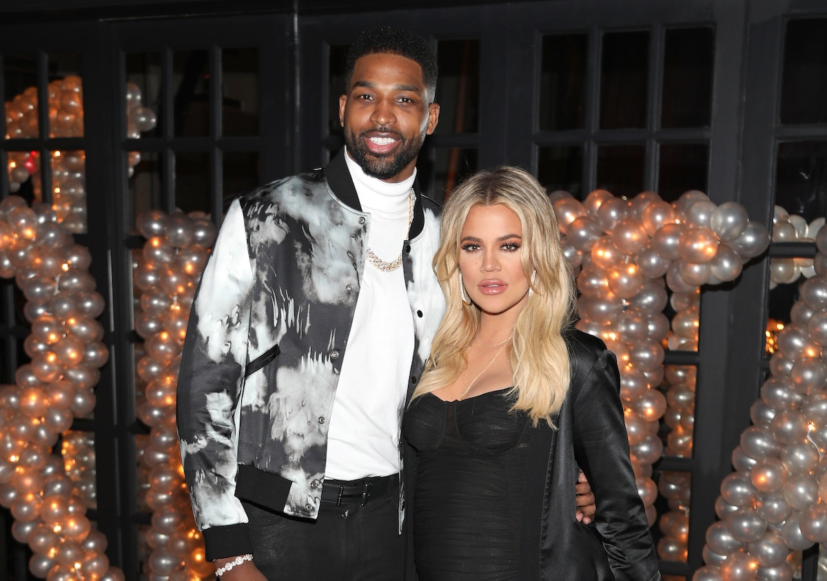 Khloé Kardashian's reaction to Tristan Thompson's shirtless Instagram is a lot to take in.