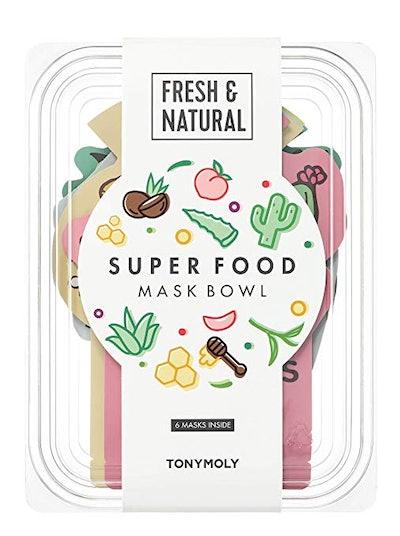 TONYMOLY Super Food Mask Bowl (6-Pack)
