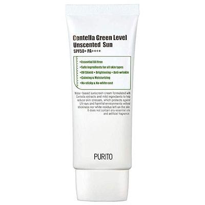 Purito Centella Green Level Unscented Sunscreen SPF 50+