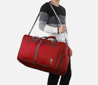 60L packable duffle bag