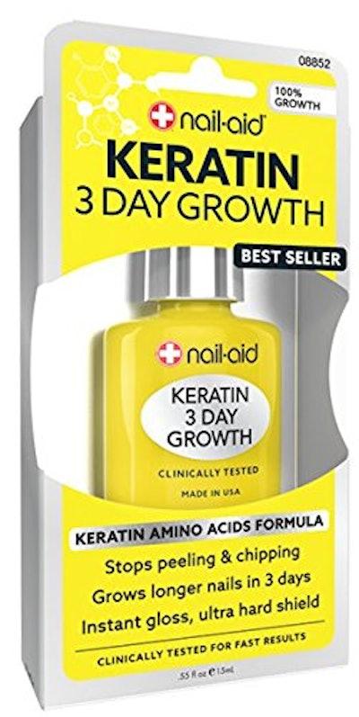 Nail-Aid Keratin 3 Day Growth