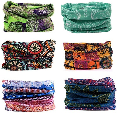 Toes Home Scarf Headbands (6-Pack)*
