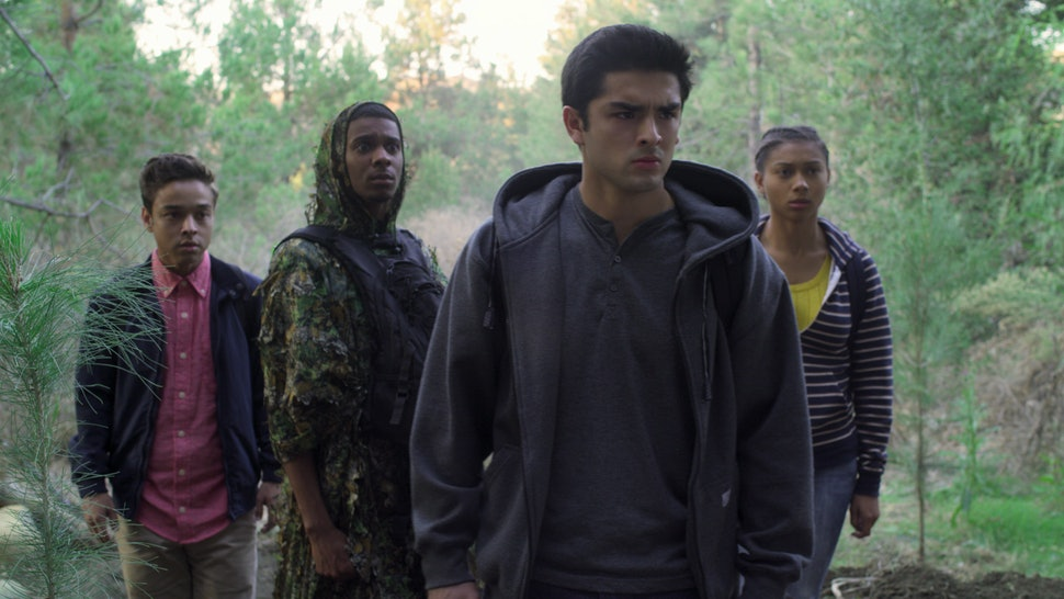 The kids in the 'On My Block' Season 3 finale