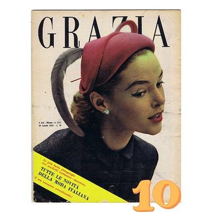 Grazia 1952-1953 Fashion Magazine
