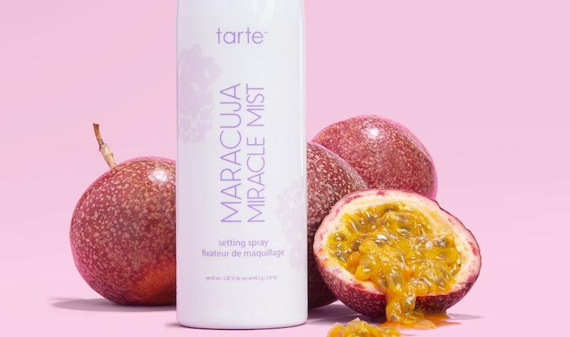 Tarte's new Maracuja Miracle Mist Setting Spray.