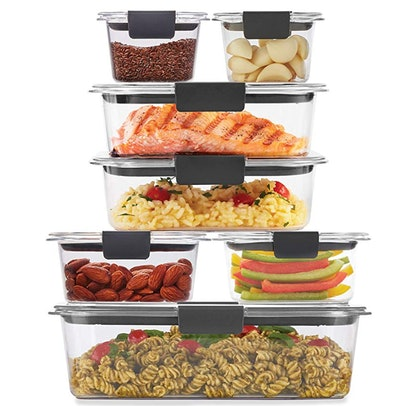 Rubbermaid 2108377 Brilliance Storage (14-Piece)