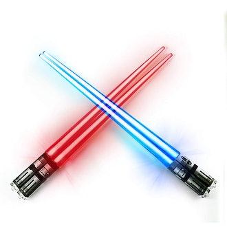ChopSabers Light Up Lightsaber Chopsticks