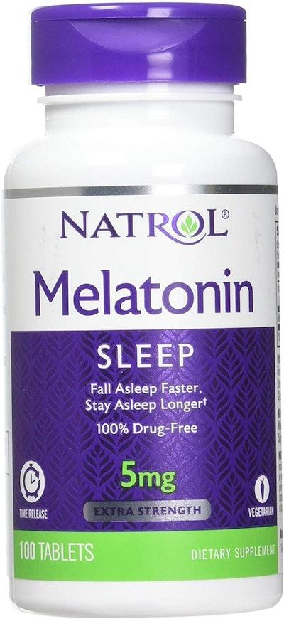Natrol Melatonin Time Release Tablets (100-Count, 2-Pack)