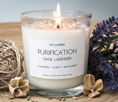 My Lumina Purification Candle (Sage Lavender)