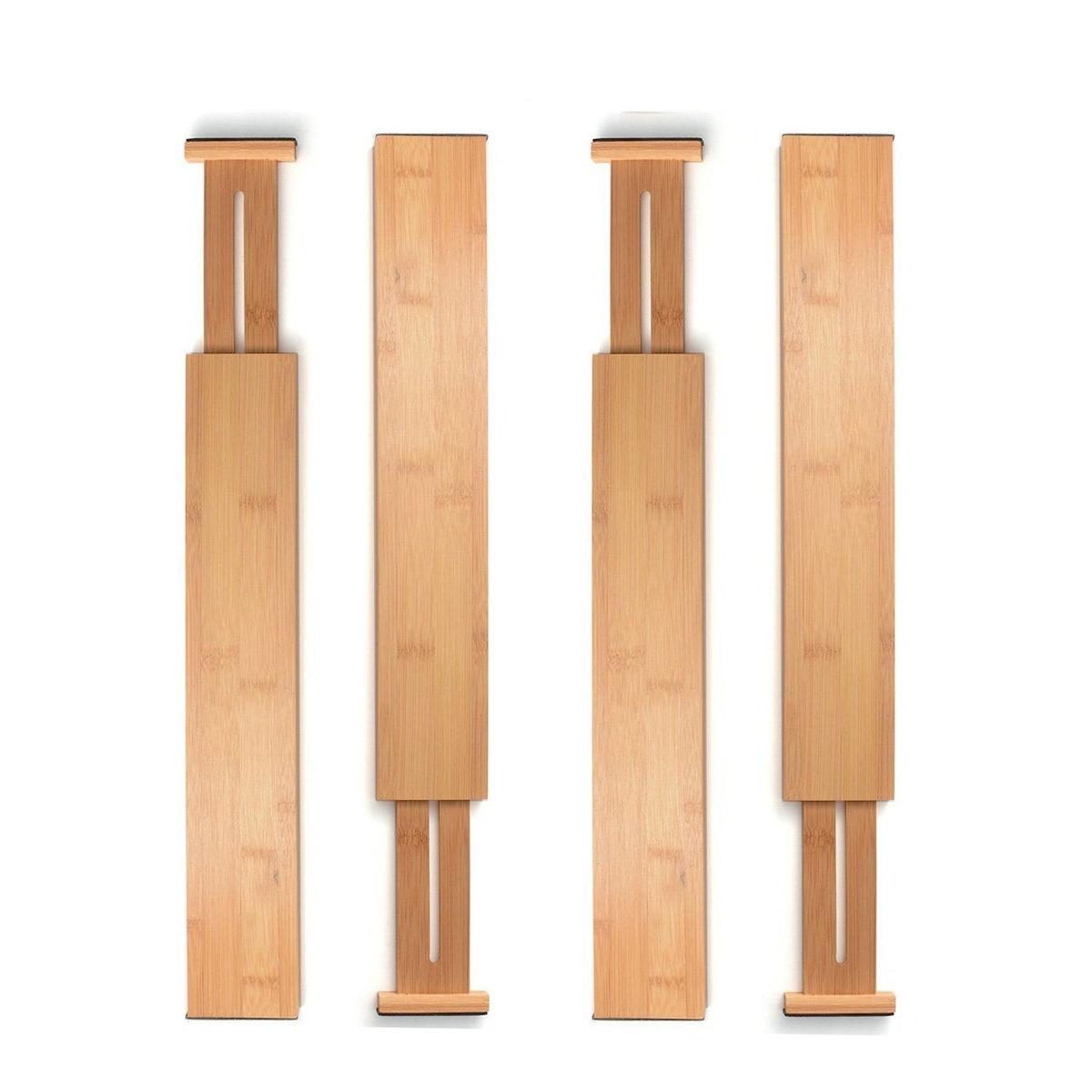 Bambusi Bamboo Drawer Dividers