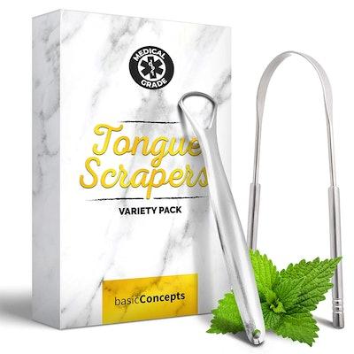 Basic Concepts Tongue Scraper (2 Pack)