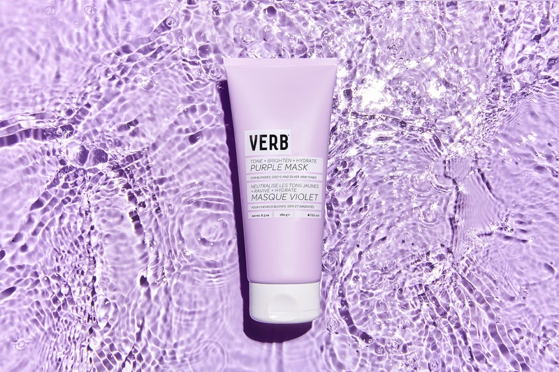 Verb's new Purple Hair Mask will protect your blonde from going brassy this summer