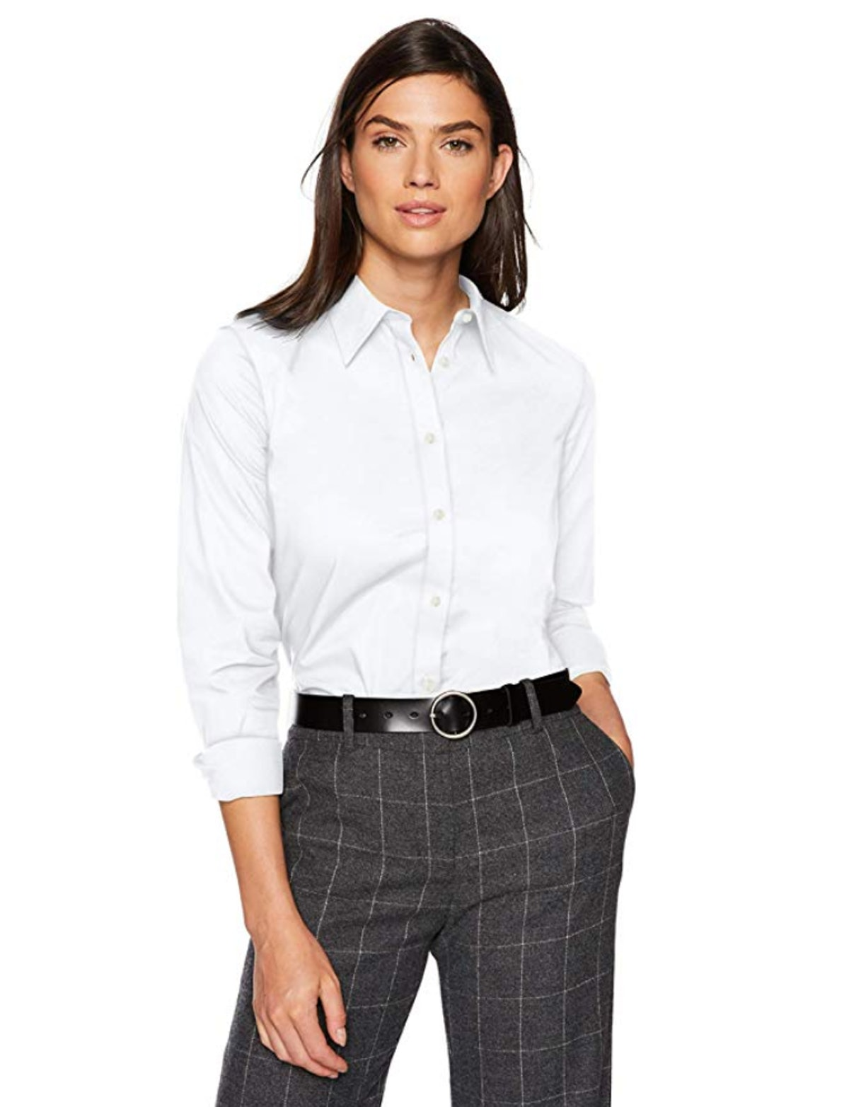Chaps Long Sleeve Broadcloth Shirt