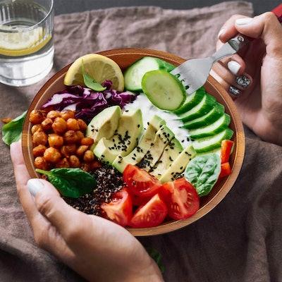 Aidea Acacia Wooden Salad Bowls (4-Piece Set)