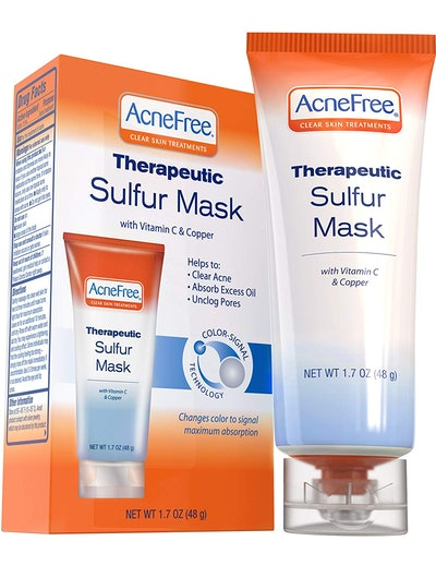 AcneFree Sulfur Mask Treatment for Clearing Acne