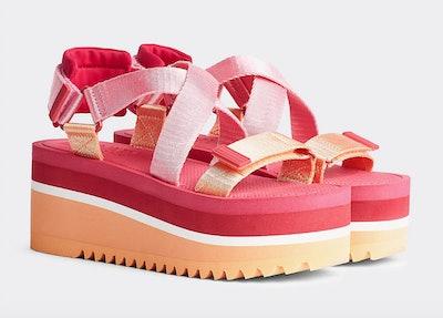 Tommy Jeans Colour-Blocked Flatform Sandals