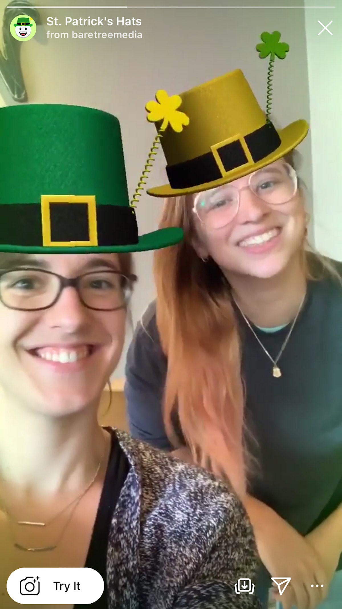 These St. Patrick's Day 2020 Instagram filters will get you in the spirit.
