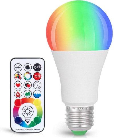 SUNNEST Color Changing Light Bulb with Remote Control