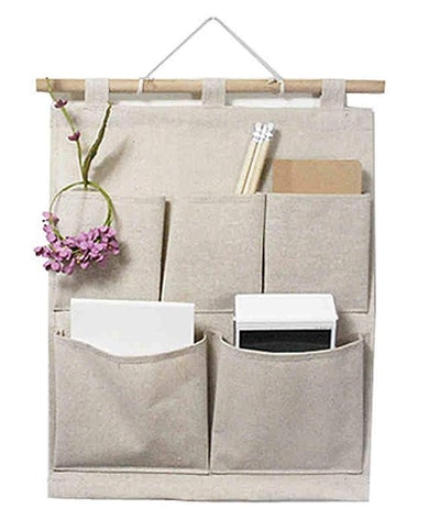 KINGREE Over The Door Magazine Storage Pockets