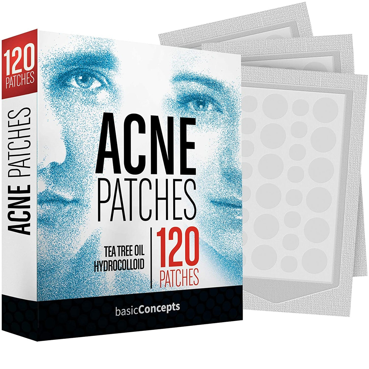 Basic Concepts Acne Patches (120-Pack)