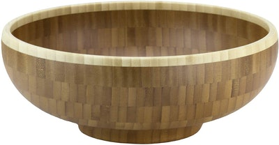 Totally Bamboo Classic Bamboo Serving Bowl