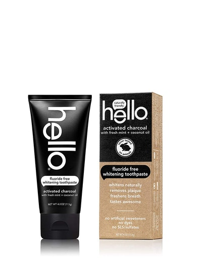 Hello Oral Care Activated Charcoal Teeth Whitening Toothpaste
