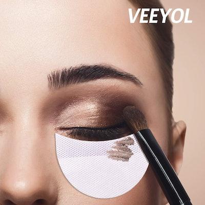 VEEYOL 100 Pcs Professional Eyeshadow Pads