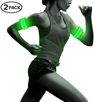 BSEEN 1 Pack for 2 PCS LED Armband