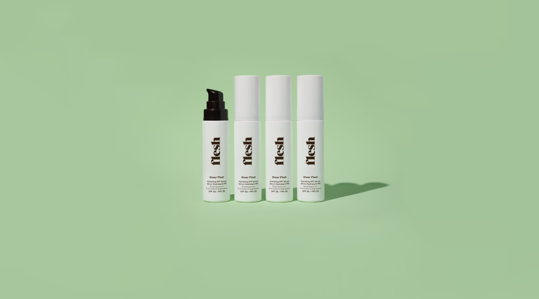 Flesh's new SPF 35 Hydrating Serum