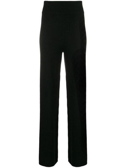 Cashmere In Love Cashmere Blend Side Stripe Track Pants