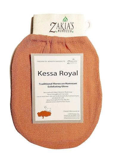 Zakia's Morocco Original Kessa Hammam Scrubbing Glove