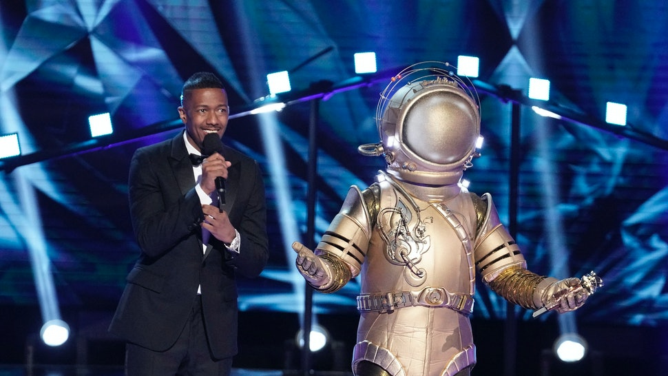 Astronaut is likely Hunter Hayes on Masked Singer.