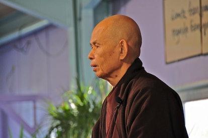 Buddhist monk Thich Nhat Hanh.