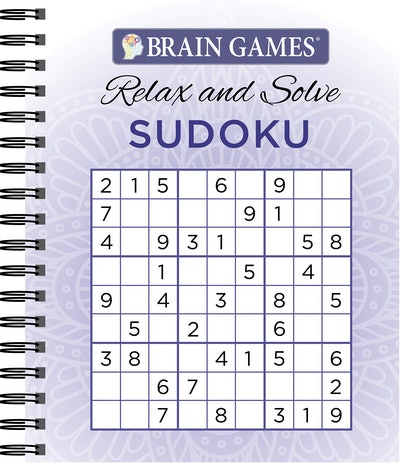 Brain Games Relax and Solve: Sudoku