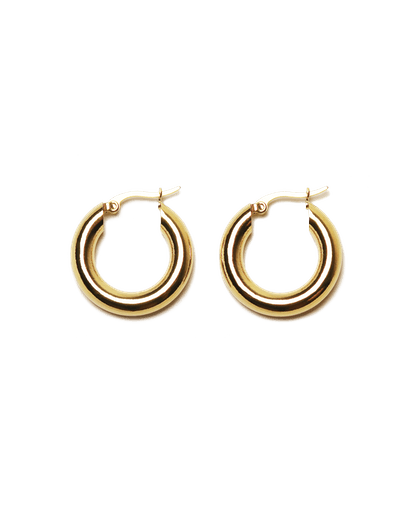 Freja Hoop Earrings Medium