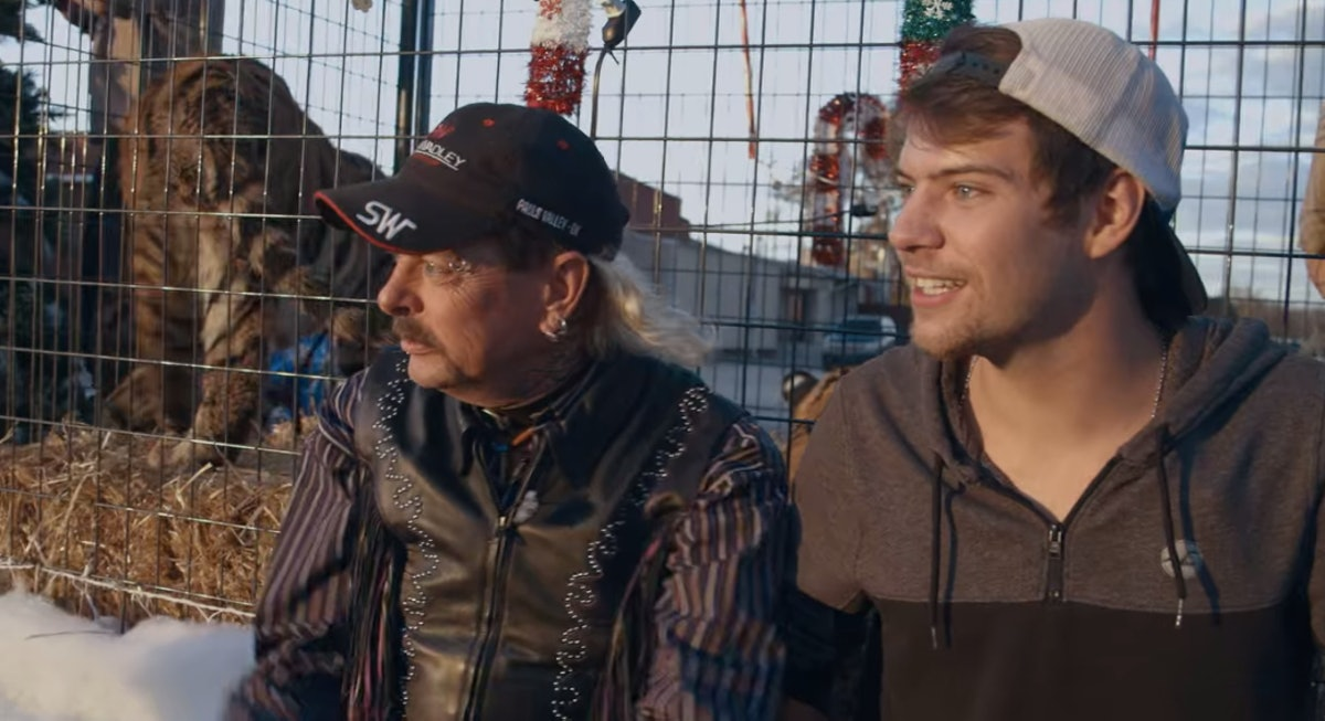 Dillon Passage & Joe Exotic in 'Tiger King'
