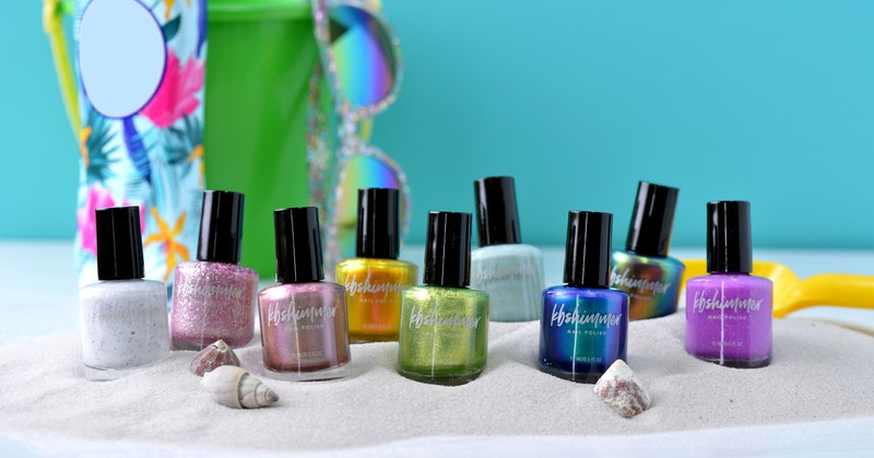 KBShimmer's new Beach Break nail polish collection features nine shades.